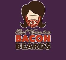 Bacon Beard (women's version) Womens Fitted T-Shirt