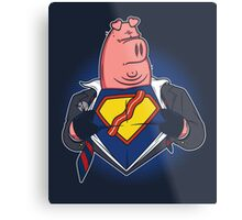 Super Bacon Metal Print