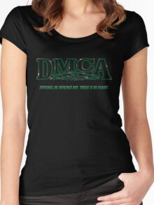 The DMCA Strikes Back Women's Fitted Scoop T-Shirt