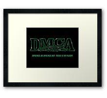 The DMCA Strikes Back Framed Print