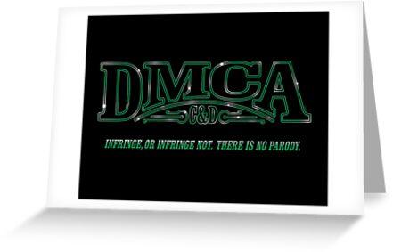 The DMCA Strikes Back by mikehandyart