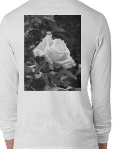 Monochromatic Pink Rose  Long Sleeve T-Shirt