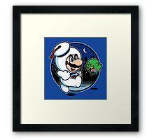 Super Marshmallow Bros. Framed Print