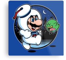 Super Marshmallow Bros. Metal Print