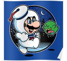 Super Marshmallow Bros. Poster