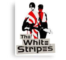 The White Stripes - Pepermint Tape Canvas Print