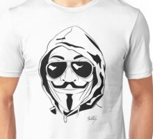 Vendetta Shades Logo Unisex T-Shirt
