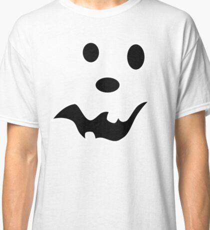 Scared Jack O'Lantern Face Classic T-Shirt