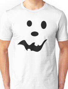 Scared Jack O'Lantern Face Unisex T-Shirt
