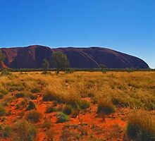 Uluru - Northern Territory by Paul Gilbert