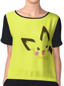 Pokemon - pichu cute Chiffon Top