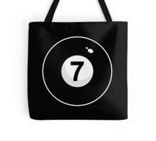 Black Seven Tote Bag