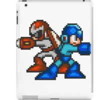 Megaman And Protoman iPad Case/Skin