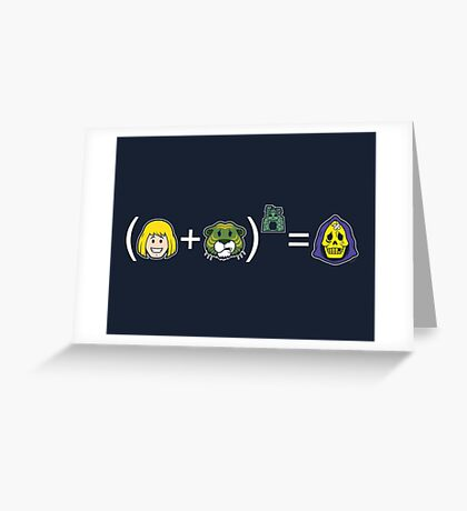 He-Math Greeting Card