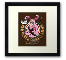 Red Ryder Guns & Ammo Framed Print