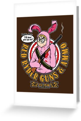 Red Ryder Guns & Ammo by mikehandyart