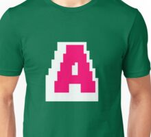 Altitude Colored 8-bit Letter A Unisex T-Shirt