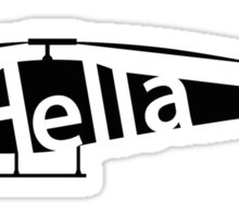 Hellacopter Helicopter Sticker