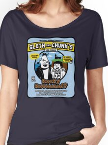 Sloth and Chunk's Ice Cream Women's Relaxed Fit T-Shirt