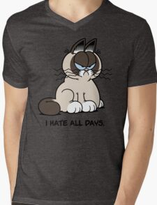Always Grumpy Mens V-Neck T-Shirt