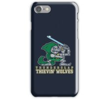 Thunderclap Thievin' Wolves iPhone Case/Skin