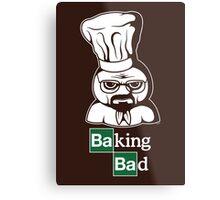 Baking Bad Metal Print