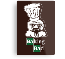 Baking Bad Metal Print