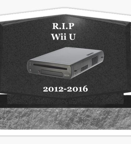 R.I.P: Wii U Sticker