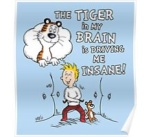 The Tiger in My Brain Poster