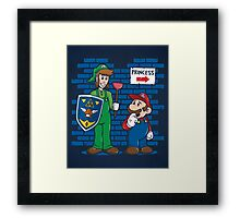 Your Princess is in Another Castle Framed Print