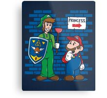 Your Princess is in Another Castle Metal Print