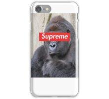 Supreme Harambe iPhone Case/Skin