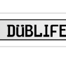Euro Plate - DUBLIFE Sticker