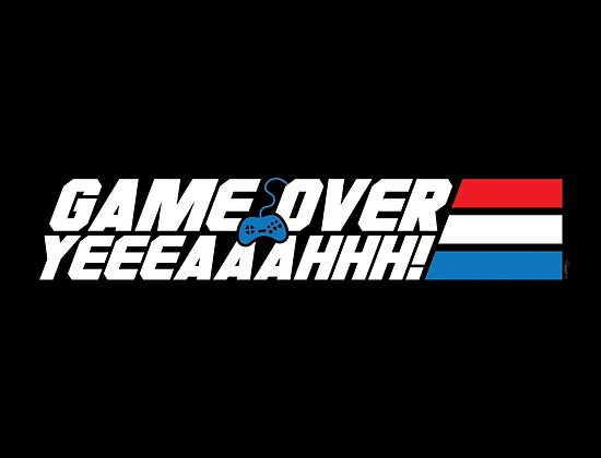 Game Over Yeah! by mikehandyart