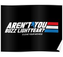 Aren't You Buzz? Poster