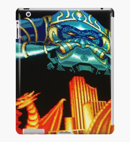 Forgotten Worlds scanline pixel art iPad Case/Skin