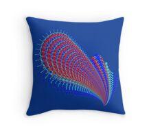 Guitar Abstract Fractal 102516 Throw Pillow