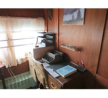 train office Photographic Print