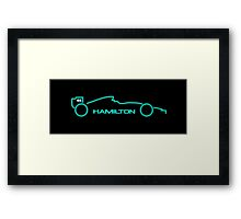 Lewis Hamilton Wall Art 5A Framed Print