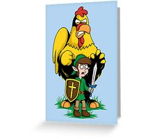 The Legend of Ernie (LIGHT SHIRTS and STICKERS) Greeting Card