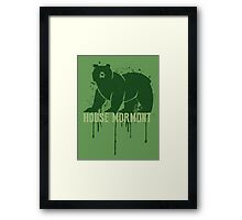 Mormont House Game of Thrones Shirt Framed Print