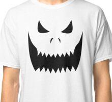 Scary Jack O'Lantern Face Classic T-Shirt