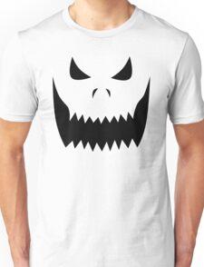 Scary Jack O'Lantern Face Unisex T-Shirt