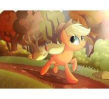 Applejack- Running Of The Leaves Photographic Print
