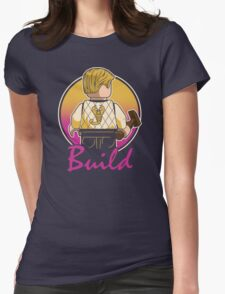 A Real Mini Hero Womens Fitted T-Shirt