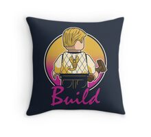 A Real Mini Hero Throw Pillow