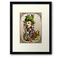Tiny Fantasy Adventures: Gorgons Framed Print