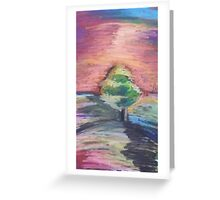 Oil Tree Greeting Card