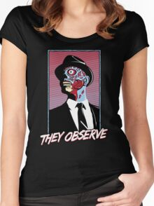 They Observe Women's Fitted Scoop T-Shirt
