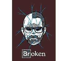 Broken Photographic Print